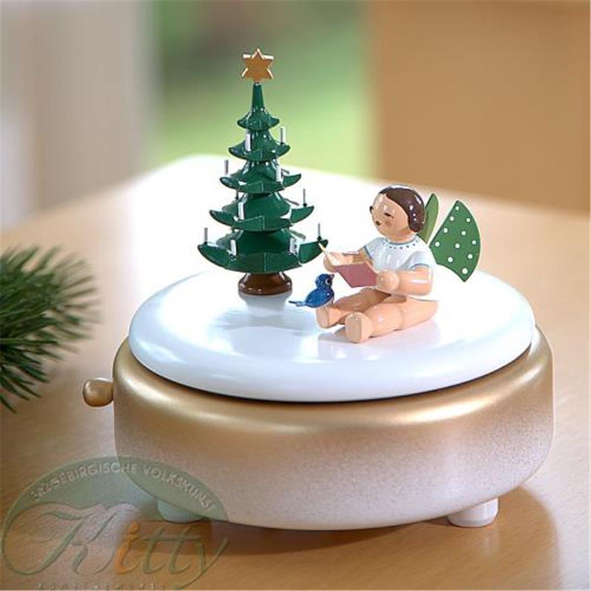 spieldose unter 39 m weihnachtsbaum erzgebirgische. Black Bedroom Furniture Sets. Home Design Ideas