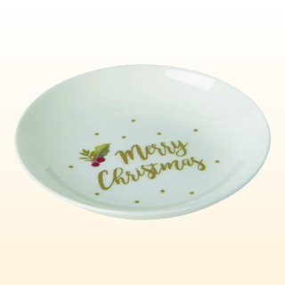 Bone China Teller merry christmas