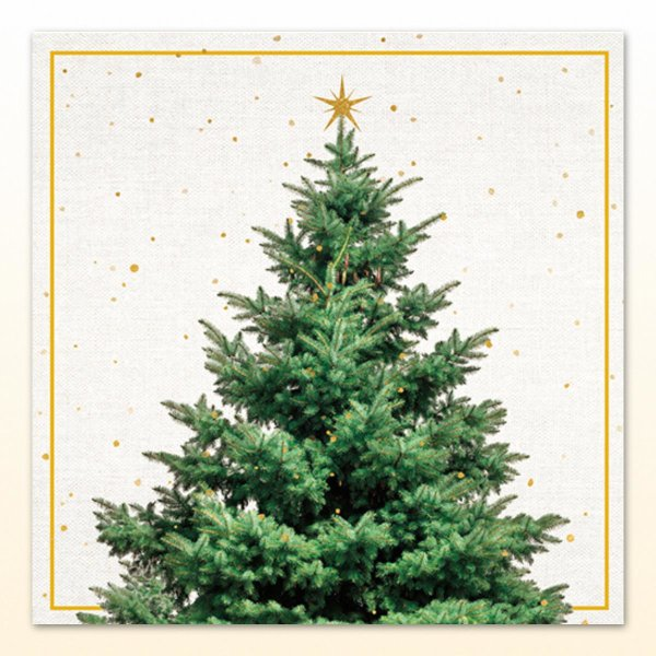 Servietten Fir Tree
