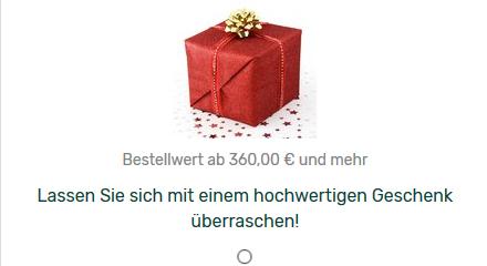 Kittys Geschenk ab 360€